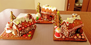 お菓子の家たち
