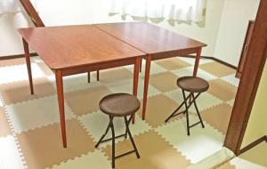 テーブル2台揃いました!